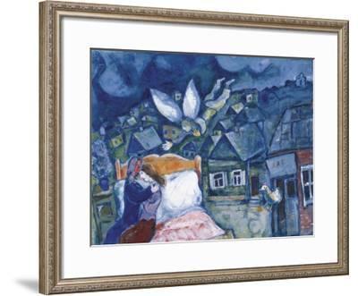 The Dream, 1939-Marc Chagall-Framed Art Print
