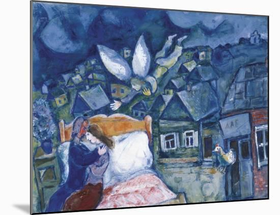 The Dream, 1939-Marc Chagall-Mounted Art Print