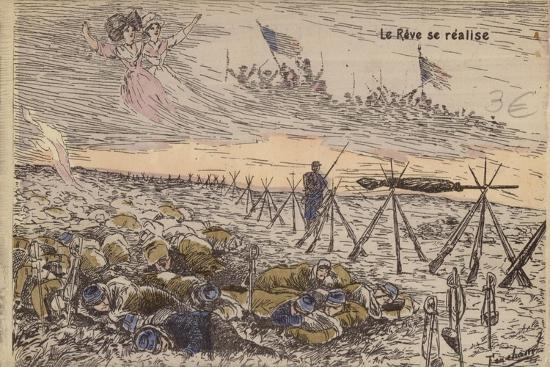 The Dream Comes True, World War I--Giclee Print