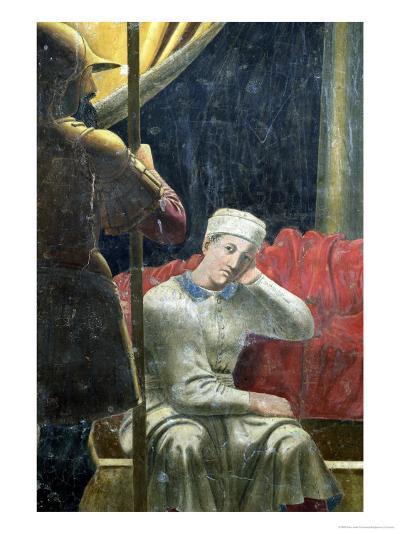 The Dream of Constantine, Completed 1464-Piero della Francesca-Giclee Print