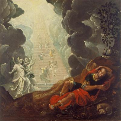 The Dream of Jacob's Ladder, 1596; Aus Der Dreifaltigkeitskirche Rotshueben-Johann Twenger-Giclee Print
