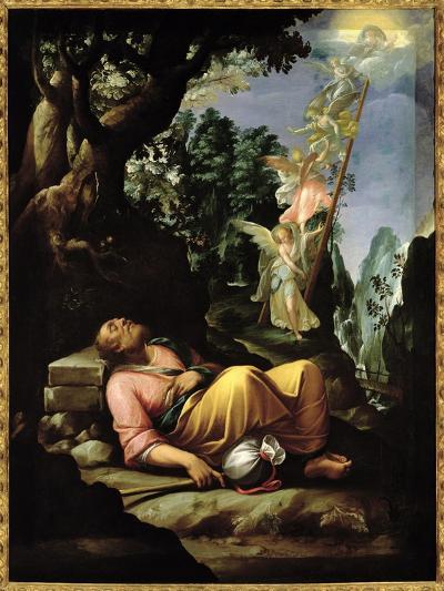 The Dream of Jacob-Alessandro Allori-Giclee Print