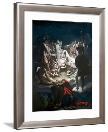 The Dream of Ossian, 1813-Jean-Auguste-Dominique Ingres-Framed Giclee Print