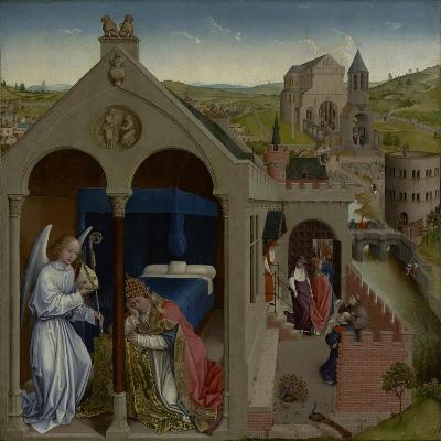 The Dream of Pope Sergius, C.1430-Rogier van der Weyden-Giclee Print