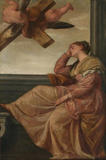 The Dream of Saint Helena, c.1570-Veronese-Giclee Print