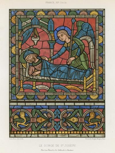The Dream of Saint Joseph--Giclee Print