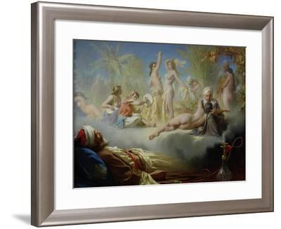The Dream of the Believer, circa 1870-Achille Zo-Framed Giclee Print