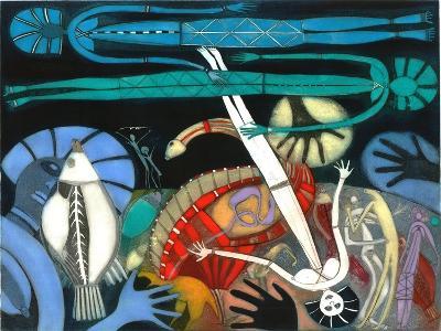 The Dream of the Fish - Falling Star-Annael Anelia Pavlova-Giclee Print