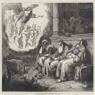 The Dream of the Three Holy Kings--Giclee Print