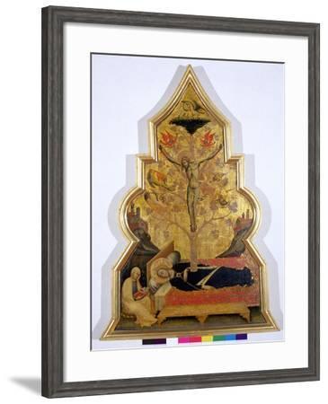 The Dream of the Virgin, c.1355-60-Simone Dei Crocifissi-Framed Giclee Print