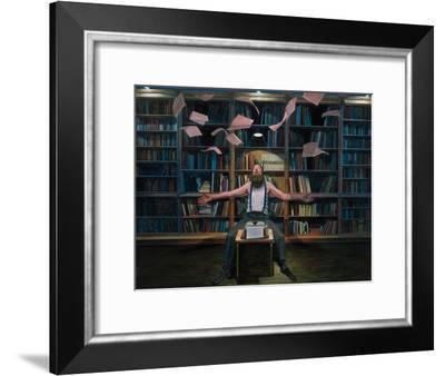 The Dream Protocol, 2014-Aris Kalaizis-Framed Premium Giclee Print