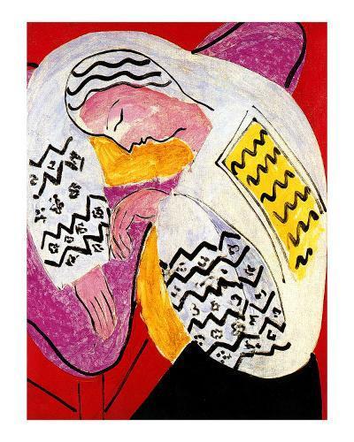The Dream-Henri Matisse-Giclee Print
