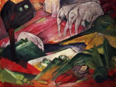 The Dream-Franz Marc-Giclee Print