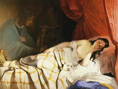 The Dream-Friedrich Von Amerling-Giclee Print