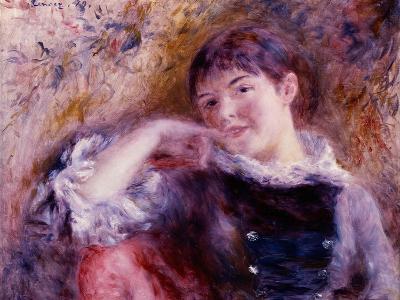 The Dreamer, 1879-Pierre-Auguste Renoir-Giclee Print