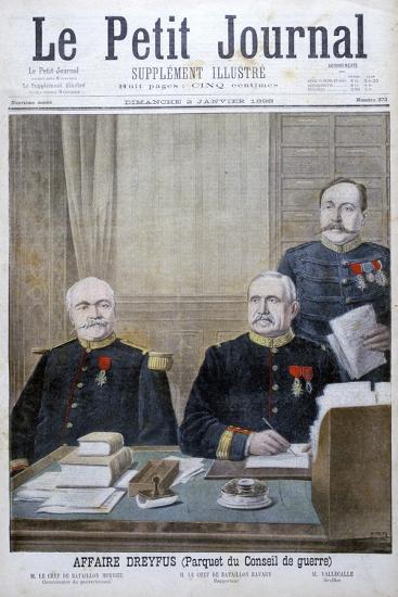 The Dreyfus Affair, 1898-Henri Meyer-Giclee Print