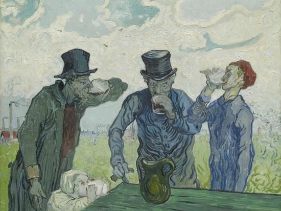 The Drinkers, 1890-Vincent van Gogh-Premium Giclee Print