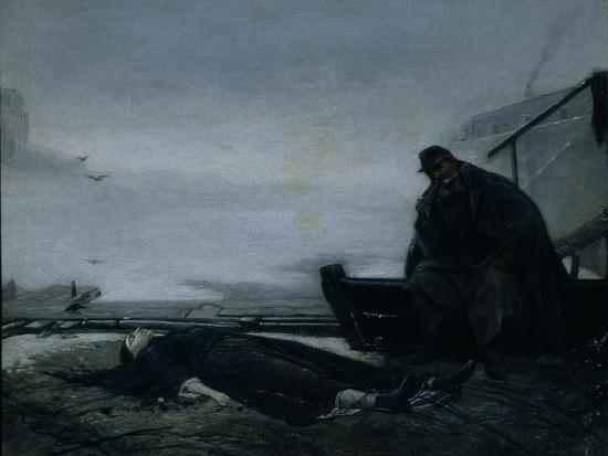 The Drowned, Mid of 1860S-Vasili Grigoryevich Perov-Giclee Print