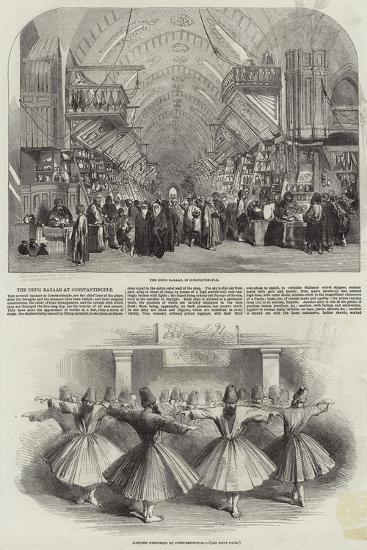 The Drug Bazaar at Constantinople--Giclee Print