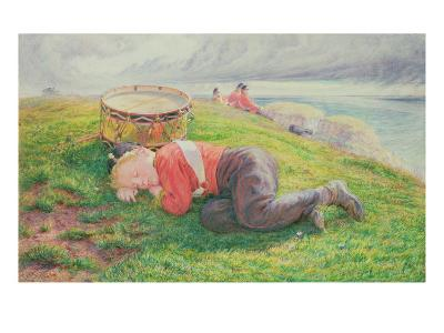 The Drummer Boy's Dream-Frederic James Shields-Giclee Print