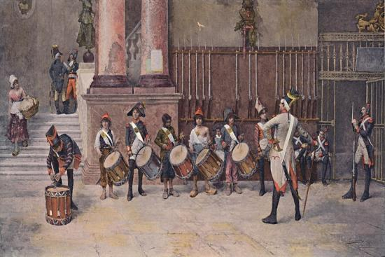 'The Drummers of the Republic', 1896-Unknown-Giclee Print
