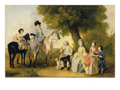 The Drummond Family, c.1769-Johann Zoffany-Giclee Print