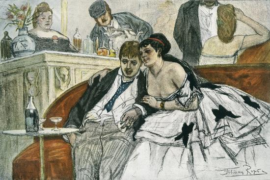 The Drunken Dandy--Giclee Print