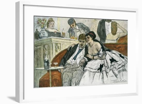 The Drunken Dandy--Framed Giclee Print