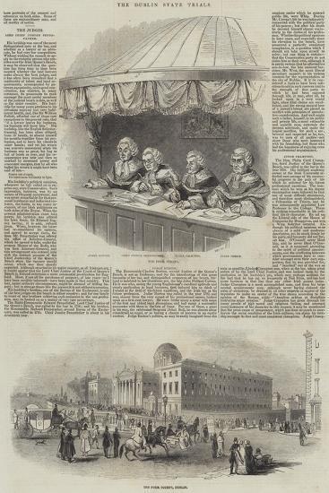 The Dublin State Trials--Giclee Print