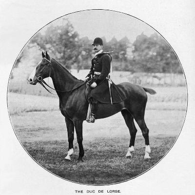 The Duc De Lorge, c1901, (1903)--Giclee Print