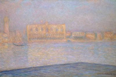 The Ducal Palace from San Giorgio, 1908-Claude Monet-Giclee Print