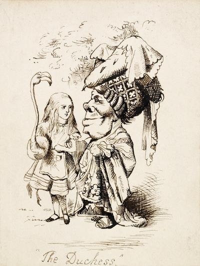 The Duchess, C.1865-John Tenniel-Giclee Print