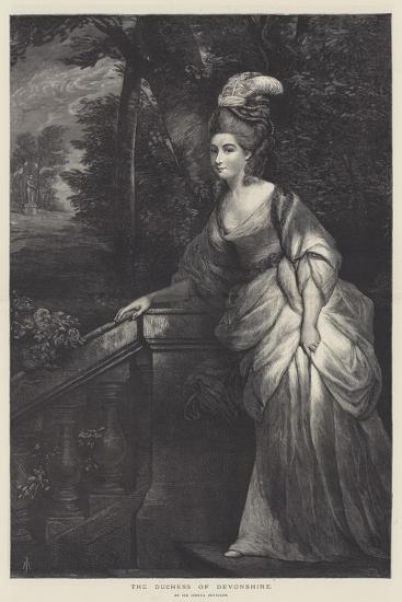The Duchess of Devonshire-Sir Joshua Reynolds-Giclee Print