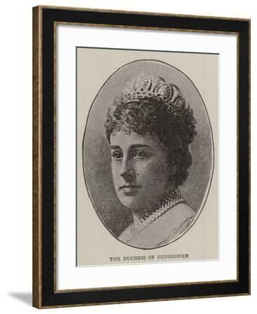 The Duchess of Devonshire--Framed Giclee Print