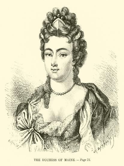 The Duchess of Maine--Giclee Print