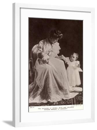 The Duchess of Scania, Children, Margaret of Connaught--Framed Giclee Print