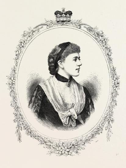 The Duchess of Westminster, 1882, UK--Giclee Print