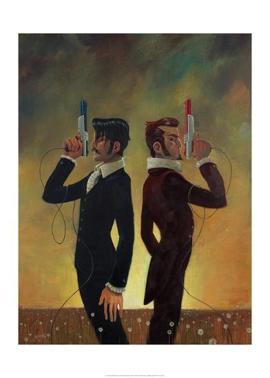 The Duel-Aaron Jasinski-Art Print