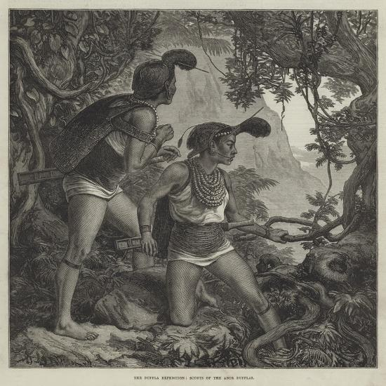 The Duffla Expedition, Scouts of the Abor Dufflas--Giclee Print