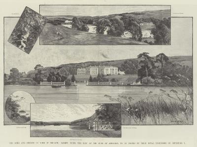 The Duke and Duchess of York in Ireland-Charles Auguste Loye-Giclee Print