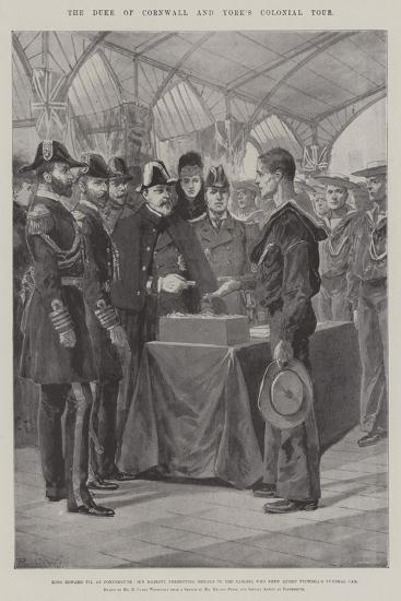 The Duke of Cornwall and York's Colonial Tour-Richard Caton Woodville II-Giclee Print