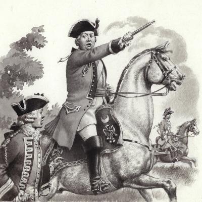 The Duke of Cumberland-Pat Nicolle-Giclee Print