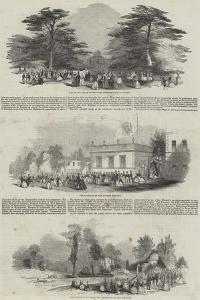 The Duke of Devonshire's Grand Fete to the Emperor of Russia, at Chiswick House