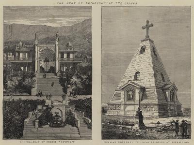 The Duke of Edinburgh in the Crimea--Giclee Print