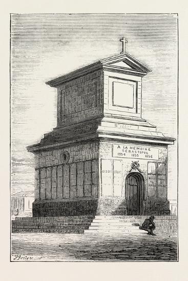 The Duke of Edinburgh's Visit to the Crimea: the French Mausoleum, Sebastopol, Ukraine, 1873--Giclee Print