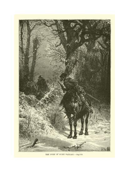 The Duke of Guise Waylaid--Giclee Print