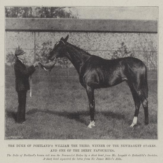 The Duke of Portland's William the Third--Giclee Print
