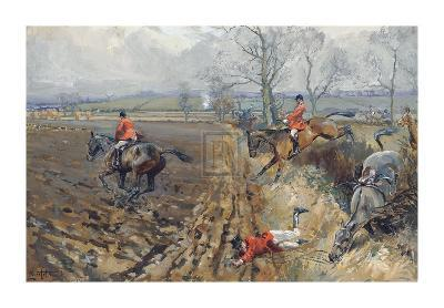 The Duke of Rutland's Hounds-Lionel Edwards-Premium Giclee Print