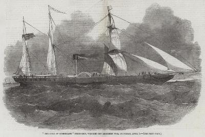 The Duke of Sutherland Steam-Ship, Wrecked Off Aberdeen Pier, in Friday, 1 April-Edwin Weedon-Giclee Print