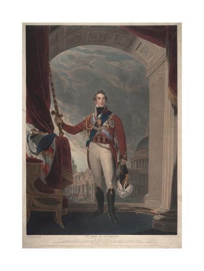 The Duke of Wellington, 1818-Thomas Lawrence-Giclee Print
